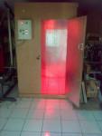 Box sauna + mesin sauna dan control panel otomatis