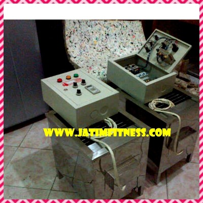 mesin sauna dan control panel