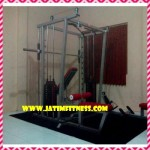 Sith mesin seasson lat pull down + lat rowing