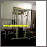 smith mesin seasson lat pull down+lat rowing