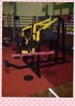 Shoulder press free weight
