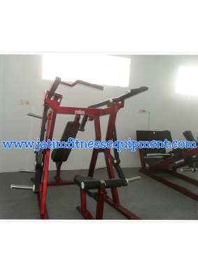 lat pull down seasson incline press free weight  5X10