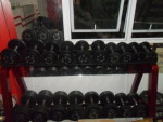 rubber dumbell