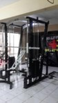 Smith mesin session leg curl extentions dan chest press
