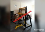 Vertikal leg press commercial gym